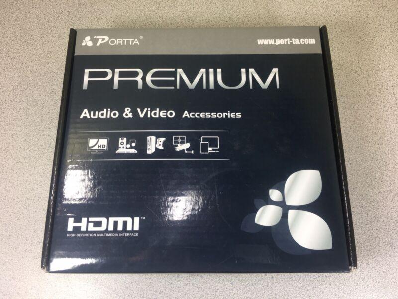 PORTTA PREMIUM HDMI 8 PORT SPLITTER AUDIO AND VIDEO ACCESSORIES