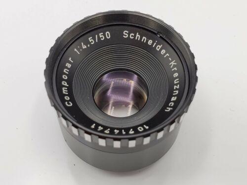 Schneider Kreuznach Componar 50mm F4.5 Enlarging Lens - 25mm Rear Thread