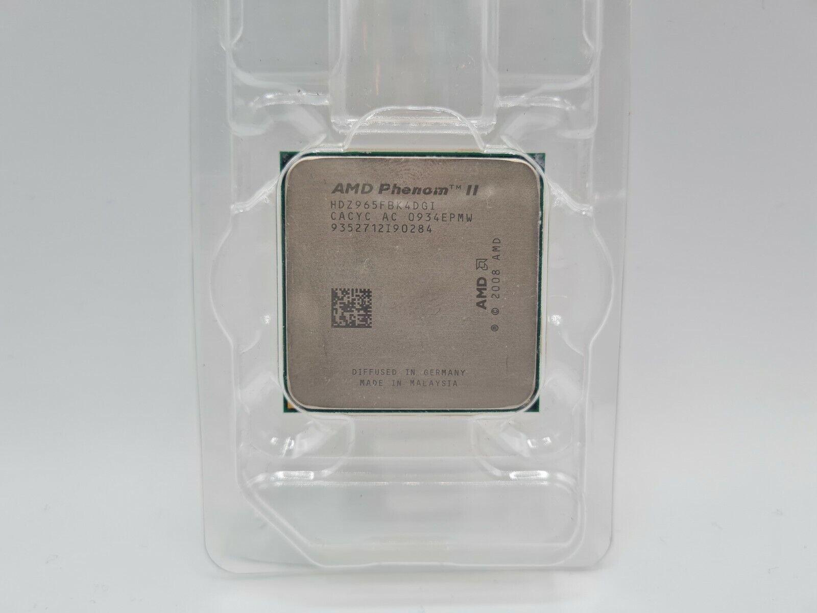 AMD Phenom II X4 965 4x 3.40GHz HDZ965FBK4DGM CPU AM2 AM3  - 24,99€