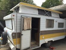 1980s viscount pop top caravan with double bed and bunks Shepparton 3630 Shepparton City Preview