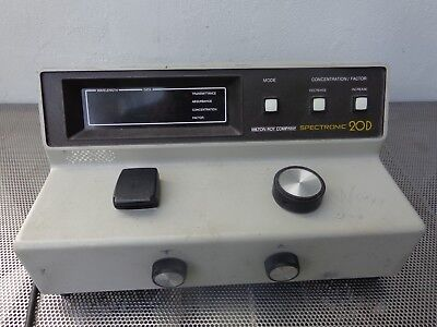 Milton Roy Spectronic 20d Spectophotometer Digital 333175
