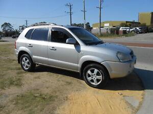 2007 Hyundai Tucson City Automatic SUV Wangara Wanneroo Area Preview