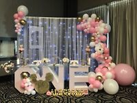 Gorgeous and modern party decoration