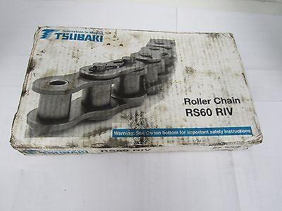 TSUBAKI ROLLER CHAIN RS60 RIV 10FT 3.048m