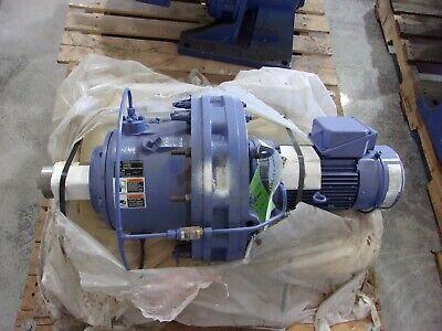 Sumitomo Sm-cyclo 3ph Gear Motor 2hp 1740rpm 6491 Va-90l Cvfms26195daycavb649
