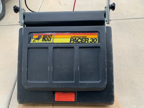 """NSS Supersuction Pacer 30 Large 30"""" Wide Area Industrial Vacuum Cleaner."""