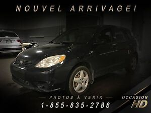 Toyota Matrix 2007 + MANUELLE + HATCHBACK + ECONOMIQUE + SUPER P