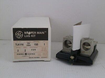 Ge Master Main Lug Kit Tlk150 2 Poles 150 Amps New In Box