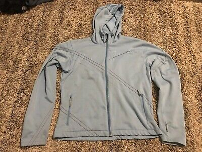 HH Helly Hansen Womens Fleece Lined Hooded Windbreaker Size Large