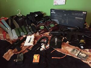 Selling my paintball guns and gear