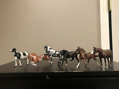 Lot of Six Breyer Stablemates Used Condition / Body
