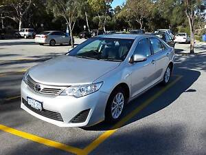2014 Toyota Camry ASV50R Altise Silver Automatic Sedan Crawley Nedlands Area Preview