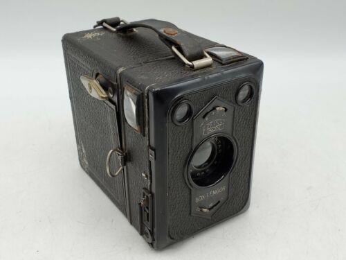 Vintage Zeiss Ikon Box-Tengor 54/2 6x9 Box Camera w/ Goerz Frontar Lens
