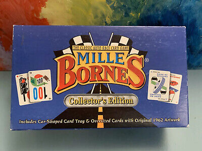 MILLE BORNES Classic Auto Race Card Game Collectors Edition 1999 1034