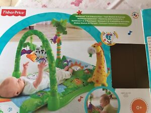 Fisher Price 1 2 3 Jungle Musical Gym
