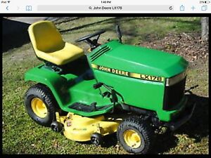 Wanted...John Deere LX178 for PARTS