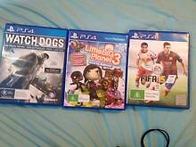PS4 Games Watch Dogs, Little Big Planet 3, FIFA 15 Maroubra Eastern Suburbs Preview