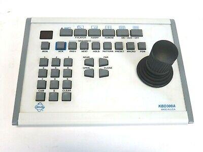 Pelco Kbd300a Security Camera Ptz Control Joystick Keyboard Ver 5.70 Rev A0