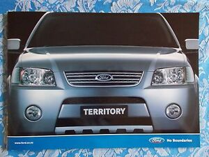 Ford Territory brochure New Zealand issue February 2005