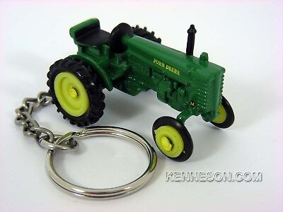 John Deere Model M Tractor Keychain, used for sale  Shipping to India