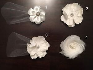 Handmade Bridal/Wedding Hair Pieces