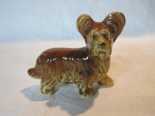 Vintage Skye Terrier dog figurine, porcelain Occupied Japan
