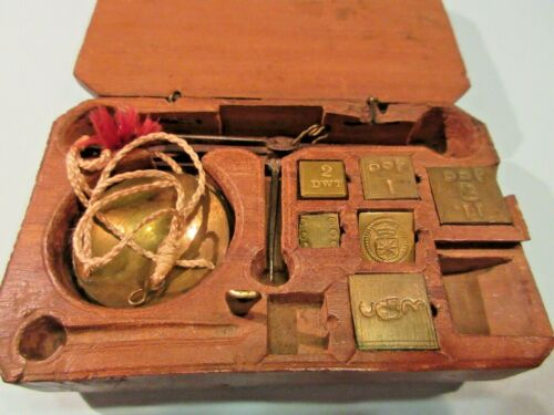 APOTHECARY / GOLD SCALE   -    19TH CENTURY