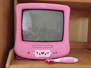 Princess tv and DVD player with remote