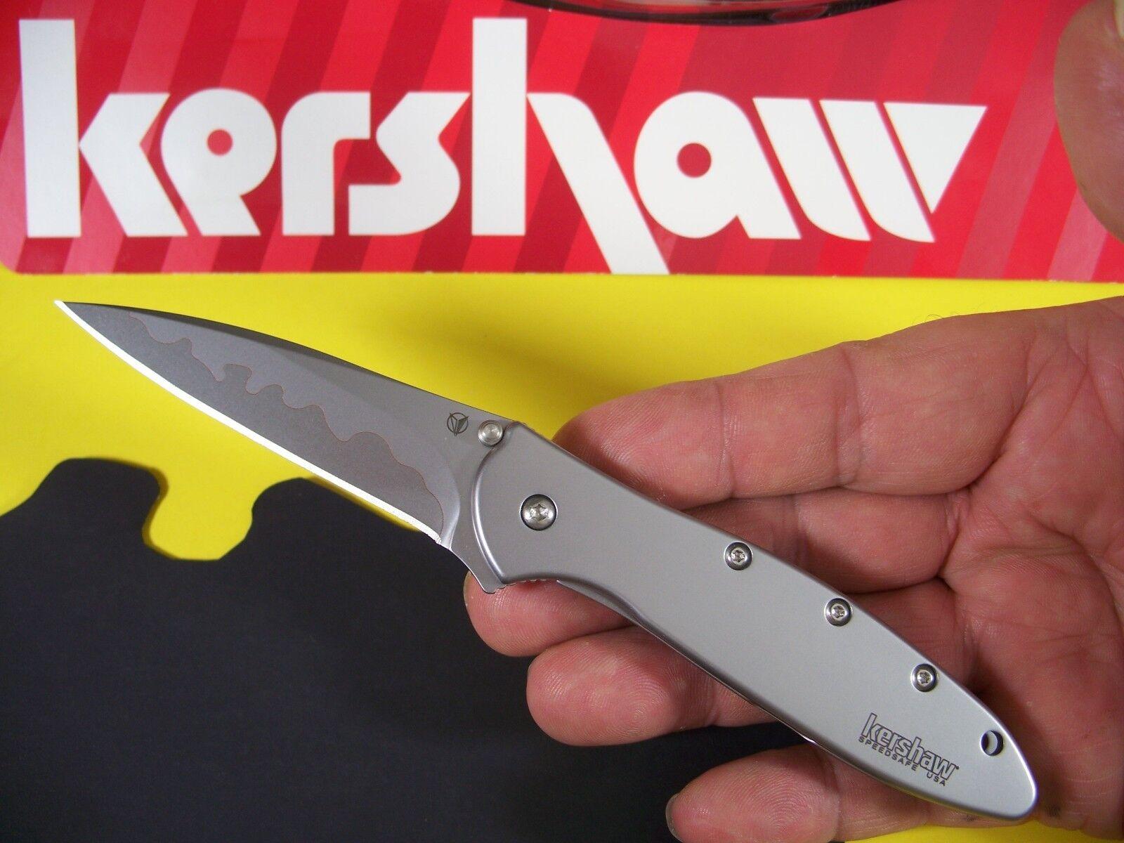 "KERSHAW ""USA"" - Composite Blade LEEK Assisted SPEEDSAFE Knif"
