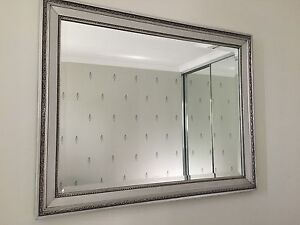 Silver 'Antique Style' Mirror 720 x 920 Southern River Gosnells Area Preview