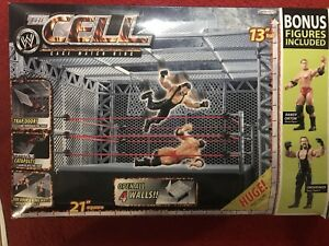 WWE WWF HELL IN THE CELL WITH WRESTLING FIGURES
