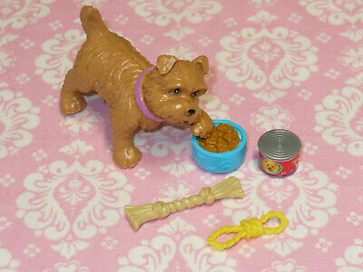 Mattel Barbie Doll Accessory PUPPY DOG and ACCESSORIES LOT Barbie Doll PET