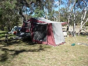Sweet AZ Camper Trailer - deep cycle battery, kitchen, gas stove Karana Downs Brisbane North West Preview