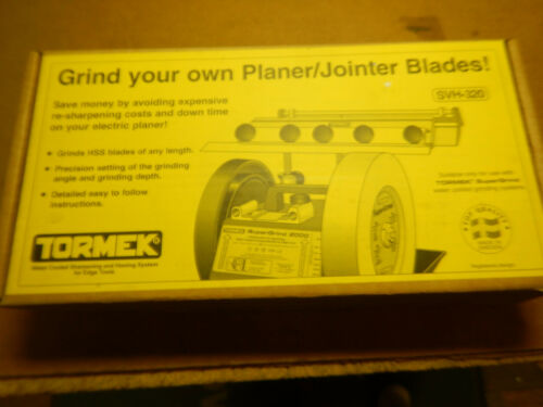 NEW OPENED TORMEK SVH-320 PLANER KNIFE SHARPENING ATTACHMENT IN BOX