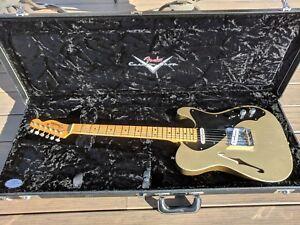Fender Custom Shop 50's Thinline Telecaster Relic - HLE Gold - Fralin / Emerson