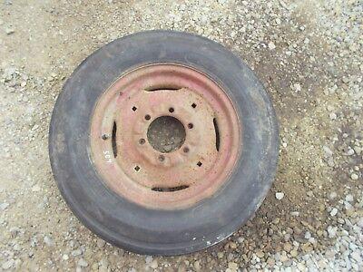 Farmall Ih 504 460 560 Tractor Ih Rim 6.00 X 16 Harvest King Front Tire