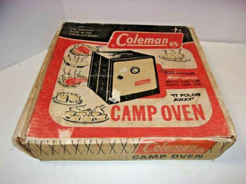 Coleman Camp Oven original box vintage Camping