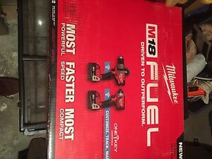 Brand new Milwaukee fuel brushless set