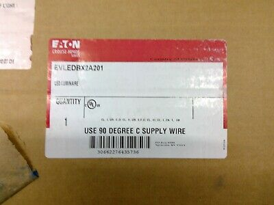 Eaton Crouse-hinds Evledbx2a201 Explosion Proof Led Luminaire Free Shipping