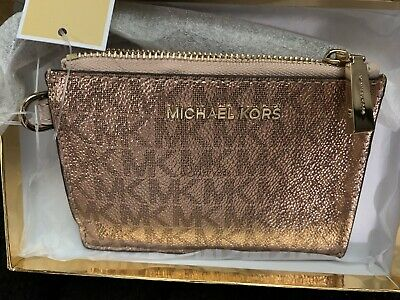 Michael Kors Genuine Signature Coin Purse Rose Gold. Brand New In Box. 💝