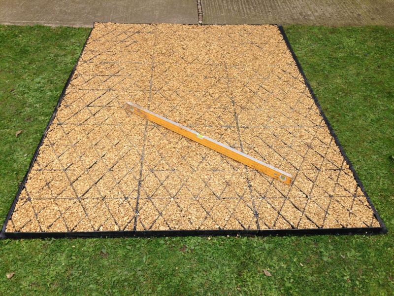 10 X 8 6ft Garden Shed Base Kit Membrane 10x8 6ft