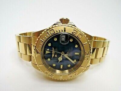 Invicta Men's Automatic Watch Pro Diver 40mm Blue Gold 26997