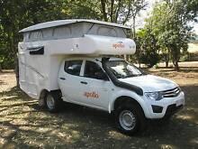 Mitsubishi Triton 4wd Duelcab Talvor Camper 2012 AS NEW-(15400Ks) Tolga Tablelands Preview