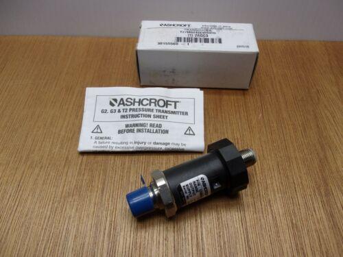 Ashcroft T27M0242EW60 #60-XCY Pressure Transducer 60 PSI Type T2