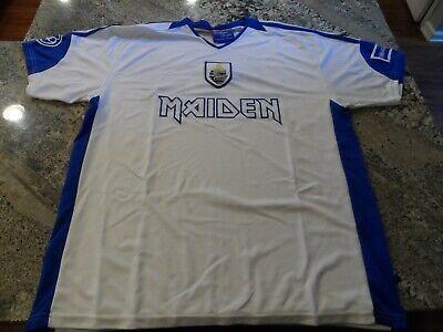 IRON MAIDEN Soccer Jersey Football shirt Official Merch World Cup Greece