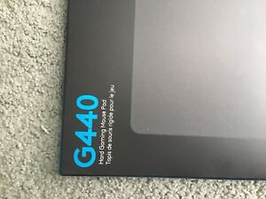 Logitech hard gaming mouse pad G440