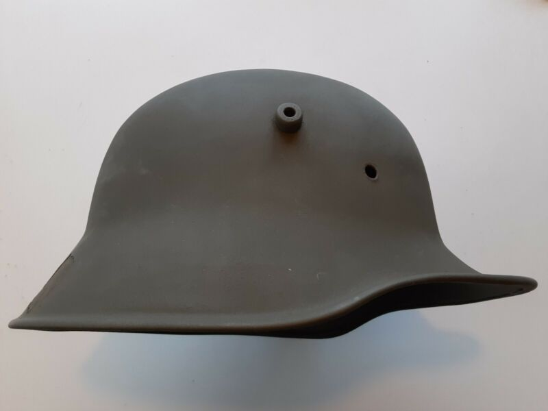 Original German WW1 WWI M-1918 Helmet Shell TJ 66