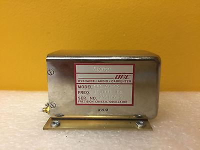 Ovenaire Osc-49-22a 10 Mhz Precision Crystal Oscillator Mount Bracket