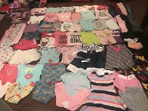 Size girl 4/5 clothes and 10 pairs of shoes