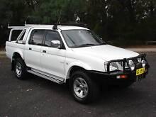 Auto 4WD DualCab Mitsubishi Triton Ute 05mod Lansvale Liverpool Area Preview